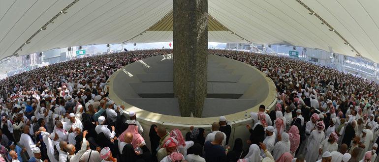 Бросание камней в джамарат